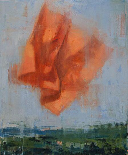 """Joseph Adolphe, """"A Reprieve No. 3"""", 44""""x36"""", oil on canvas"""