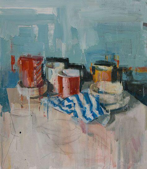 "Joseph Adolphe, ""Still Life No. 4"", 40"" x 34"", oil on canvas"
