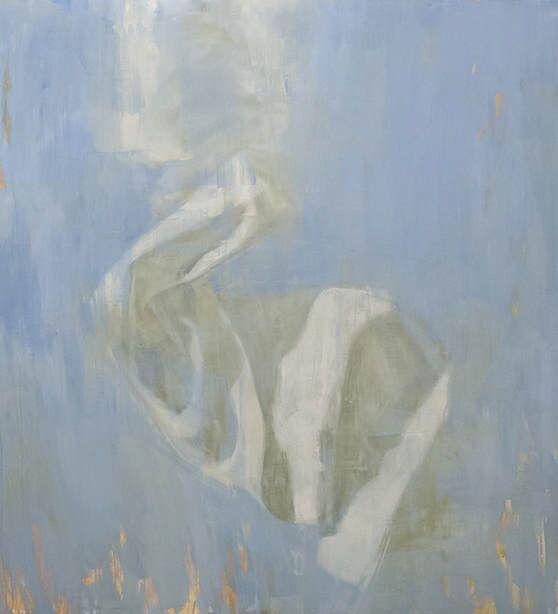 "Joseph Adolphe, ""Longing No. 8"", 60""x55"", oil on canvas"