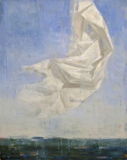"Joseph Adolphe, ""A Reminder"", 60""x48"", oil on canvas"