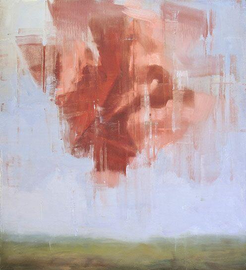 "Joseph Adolphe, ""A Promise"", 48.5""x43.5"", oil on canvas"
