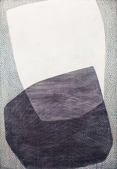 "Karine Leger, ""Bourrasque II"", 60""x42"", acrylic on canvas"
