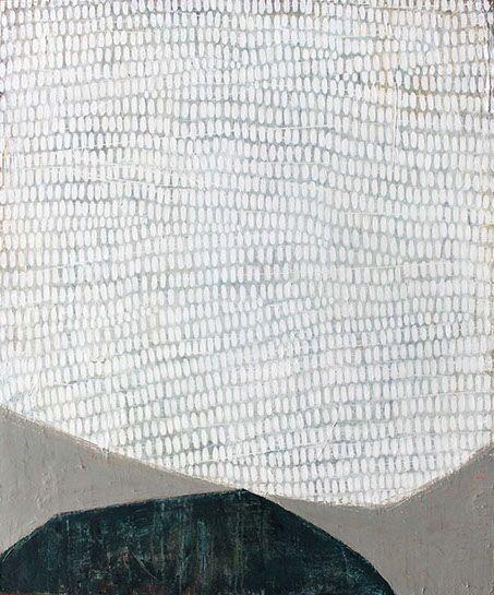 """Karine Leger, """"À L'autre Bout du Monde"""", 36""""x30"""", acrylic on canvas"""