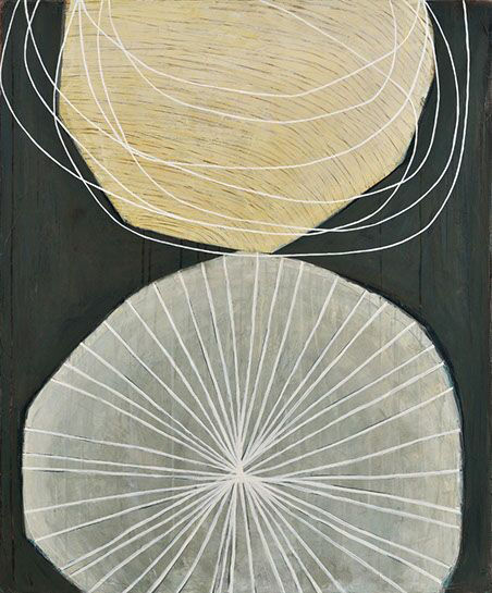 "Karine Leger, ""Dancing Sky 7"", 36""x30"", acrylic on canvas"