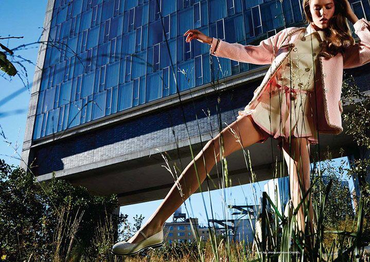 "Landon Nordeman, ""High Line with Standard Hotel"", archival pigment print"