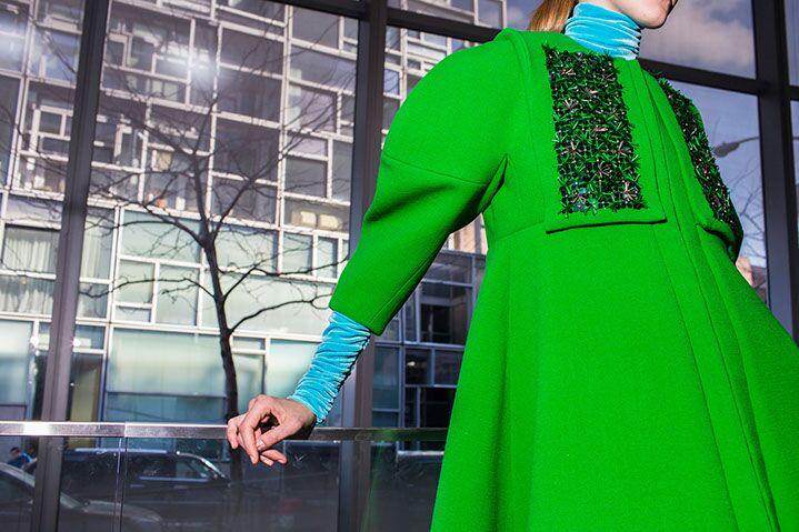 "Landon Nordeman, ""Delpozo No. 1 (Green Dress)"", archival pigment print"