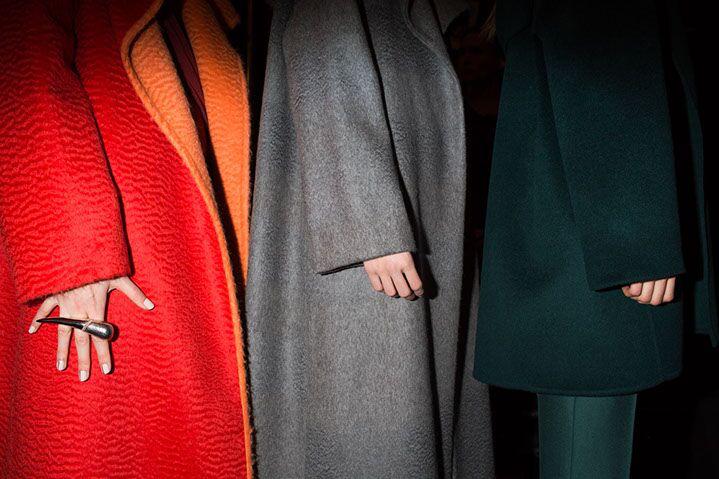 "Landon Nordeman, ""Prabal Gurung (Three Coats)"", archival pigment print"