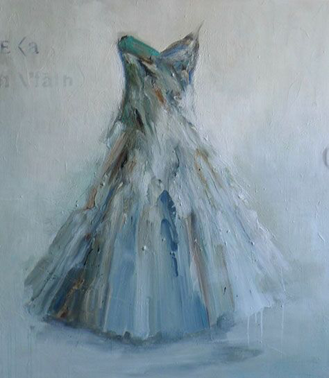 """Laura Schiff Bean """"Time is Watching"""", 48""""x42"""", oil on panel"""