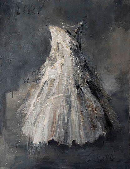"Laura Schiff Bean ""Silver Moon"", 52""x40"", oil on panel"