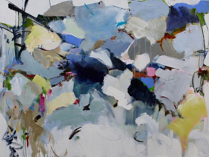 "Maria Burtis, ""Threshold"", 36""x48"", acrylic on canvas"