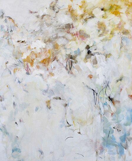 "Maria Burtis, ""Say Yes, Gently"", 72""x60"", acrylic on canvas"