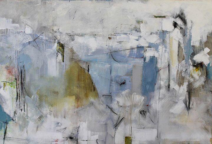 "Maria Burtis, ""Quarried"", 43.5""x64"", acrylic on canvas"