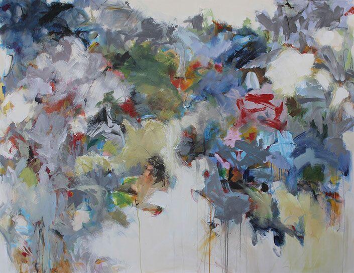 "Maria Burtis, ""Dwelling"", 48""x60"", acrylic on canvas"