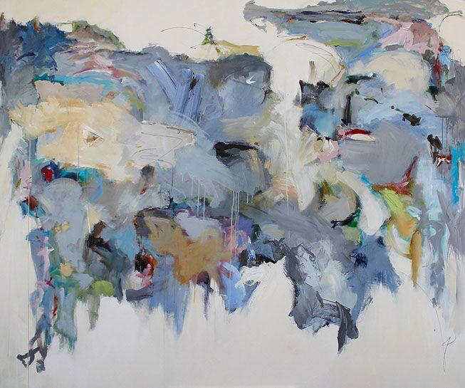 "Maria Burtis, ""Territory"", 60""x71"", acrylic on canvas"