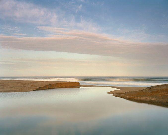 "Markham Johnson, ""Pomponio Creek 1"", size variable to edition, photograph"