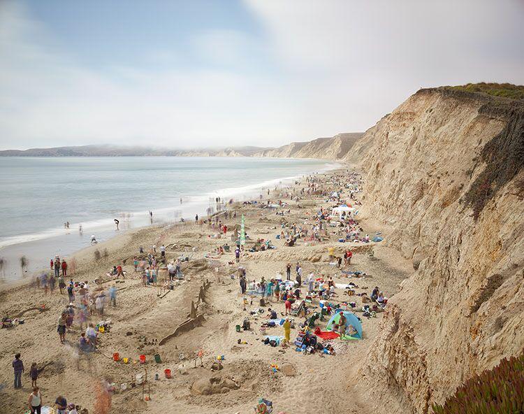 "Markham Johnson, ""Drakes Beach San Sculpture Contest"", size variable to edition, photograph"