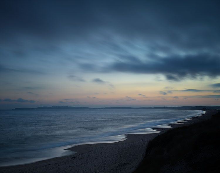 "Markham Johnson, ""Limintour Beach"", size variable to edition, photograph"
