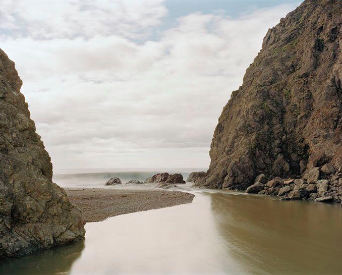 "Markham Johnson, ""Russian Gulch Creek 1"", size variable to edition, photograph"