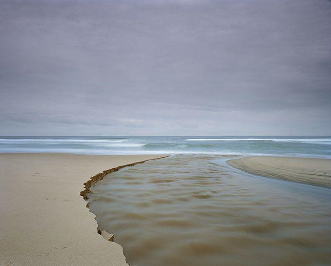 "Markham Johnson, ""Gazos Creek 3A"", size variable to edition, photograph"