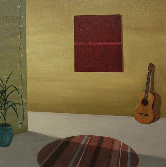 "Patrick St. Clair, ""The Sound of Silence"", 24""x24"", oil on canvas"