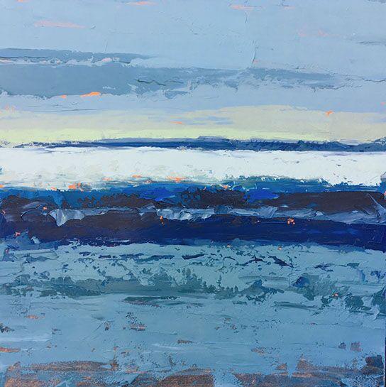 "Paul Norwood, ""Morning Light"", 48""x48"", oil on canvas"