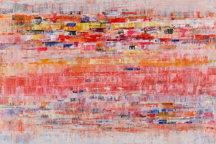 """Suzy Barnard, """"Ipse Dixit"""", 48""""x72"""", oil on panel"""
