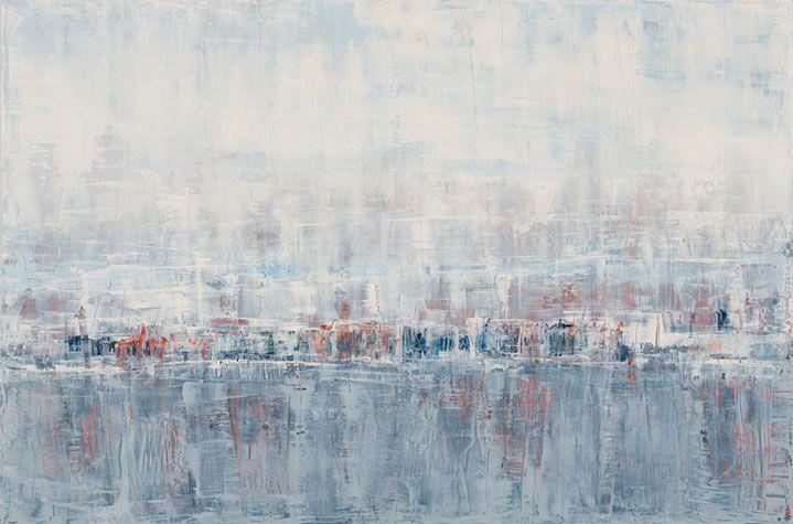 "Suzy Barnard, ""December Crush"", 48""x72"", oil on panel"