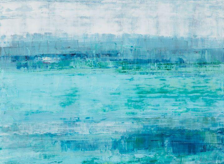 "Suzy Barnard, ""Evanescent"", 44""x60"", oil on panel"