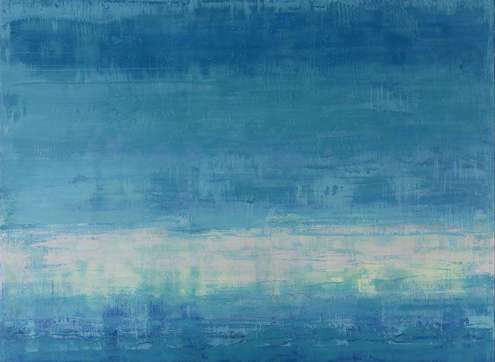 """Suzy Barnard, """"Ether"""", 44""""x60"""", oil on panel"""