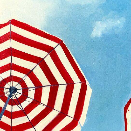 "T.S. Harris, ""Sky Gazing"", 24""x24"", oil on canvas"