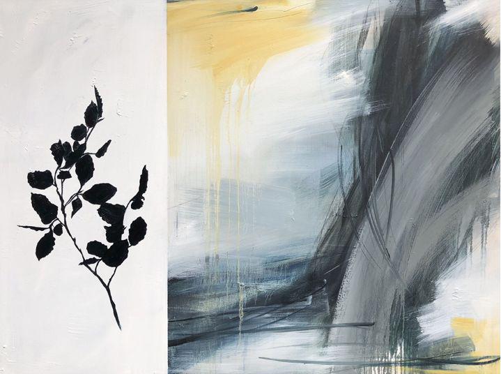 """Monika Steiner, """"Summer Ends"""", 36""""x48"""", oil on canvas"""