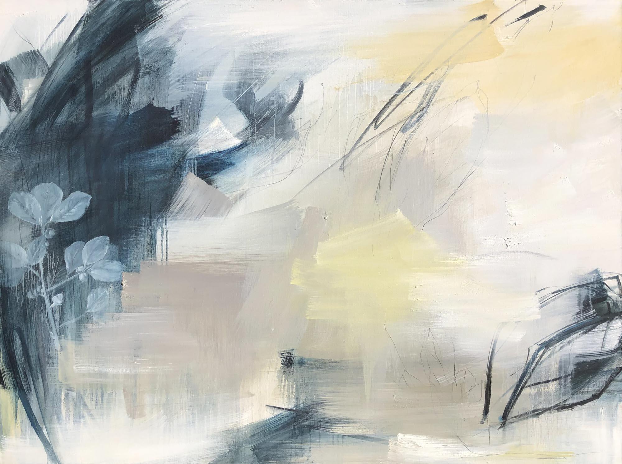 """Monika Steiner, """"Resolved"""", 36""""x48"""", oil on canvas"""
