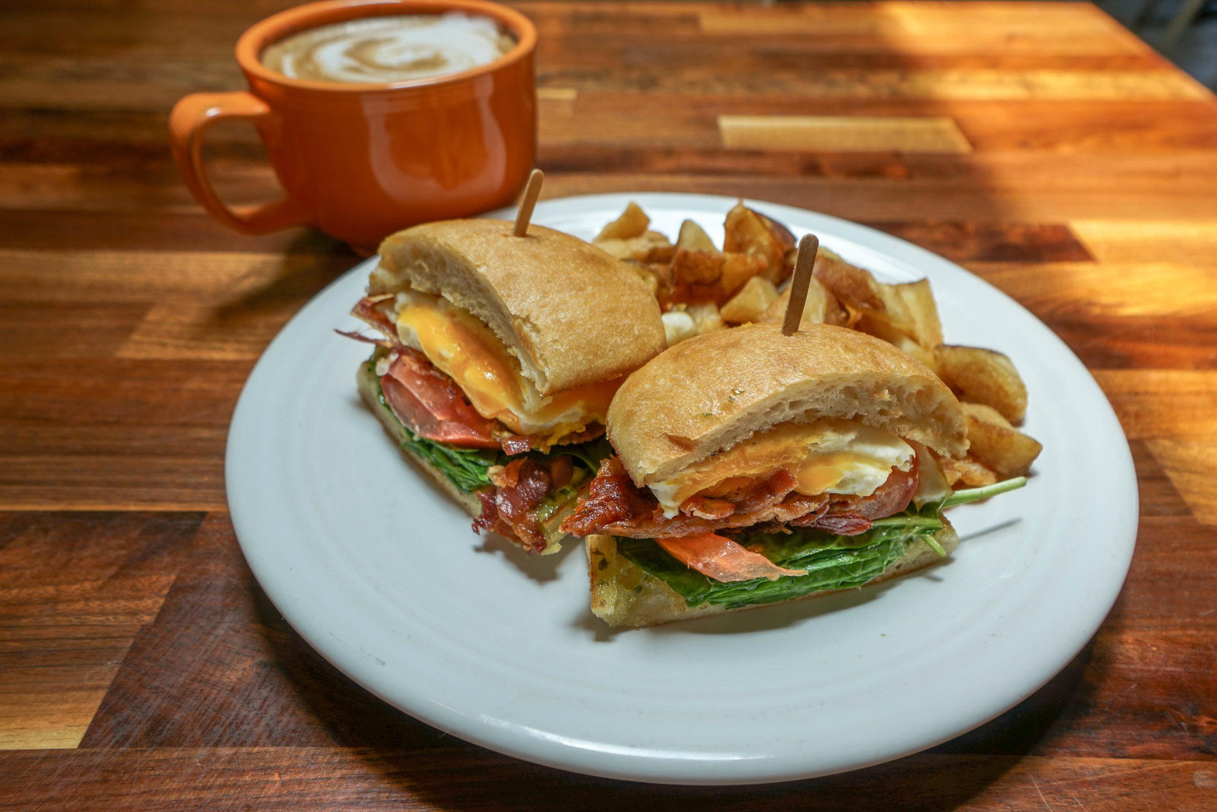 Italian breakfast sandwich