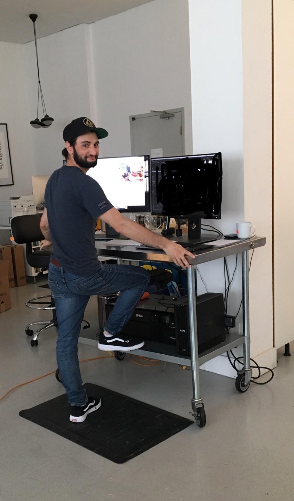 ryan vilaca at work -