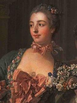 Madame de Pompadour by Boucher