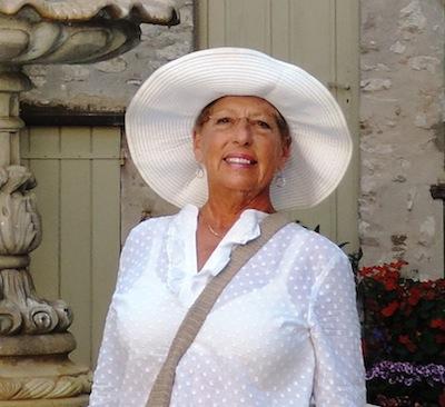 Michèle in Tourrettes-sur-Loup near Nice