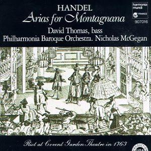 Handel Arias for Montagnana
