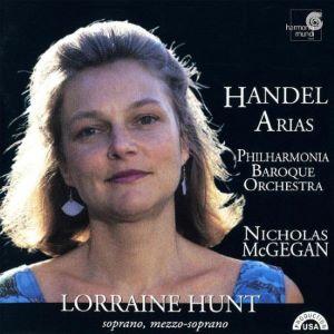Handel Arias Lorraine Hunt