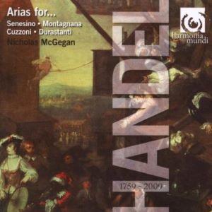 Handel Arias for Senesino Montagnana Cuzzoni Durastanti