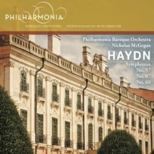 Haydn Symphonies Nos. 57, 67, & 68
