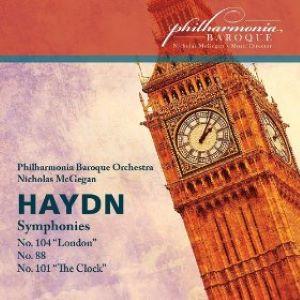Haydn Symphonies Nos. 88, 101 & 104