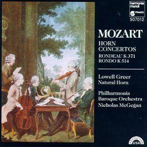Mozart Horn Concerti