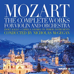 Mozart The Complete Works for Violin & Orchestra