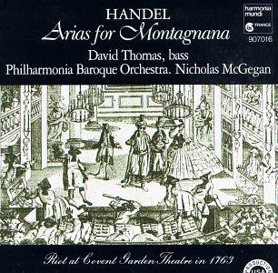 Handel - Arias for Montagnana