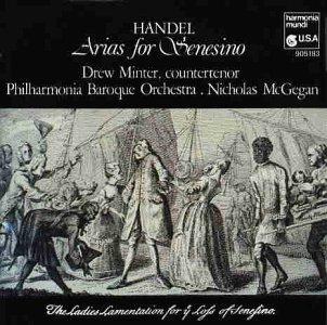 Handel - Arias for Senesino