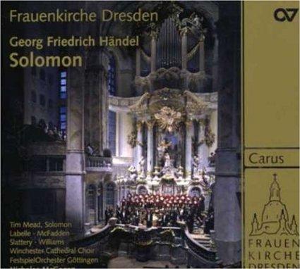 Handel - Solomon (Handel Festival Gottingen 2007)