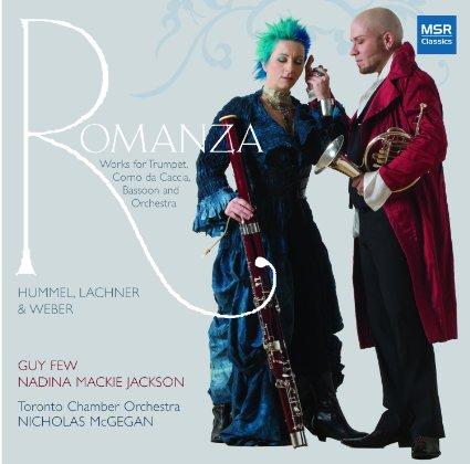 Romanza: Works for Trumpet, Corno da Caccia, Bassoon & Orchestra