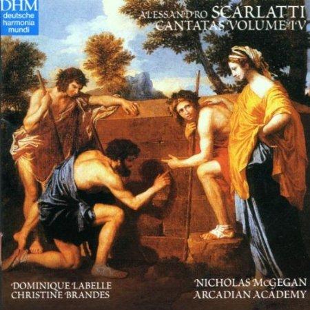 Scarlatti: Cantatas, Volume 4