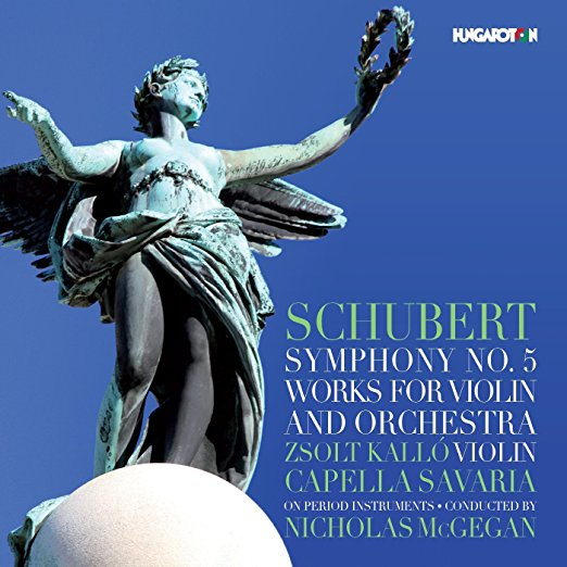 Schubert: Symphony No. 5 - Works for Violin and Orchestra