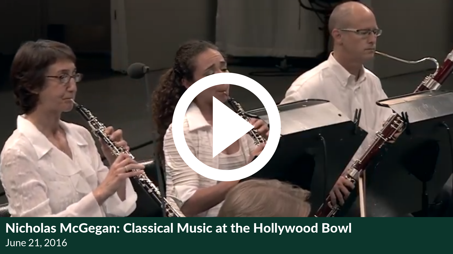 Nicholas McGegan: Classical Music at the Hollywood Bowl